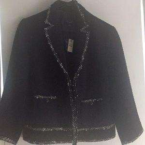 Talbots size 16 black jacket
